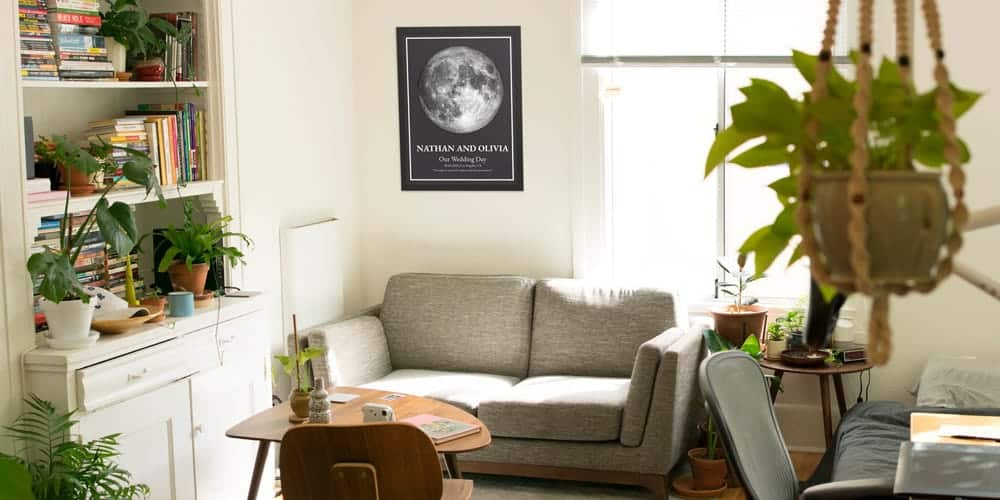 The Moon Joy - Unique Personalized Moon Phase Posters 2