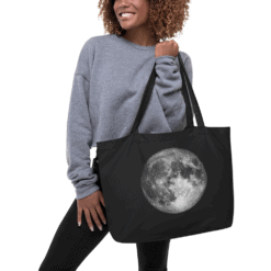 Full Moon Eco Tote Bag Size XL