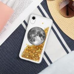 Full Moon Liquid Glitter iPhone Case 10