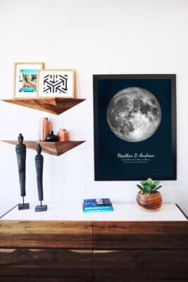 Birthday Moon Phase Poster | The Moon Joy